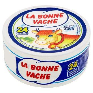 La Bonne Vache félzsíros ömlesztett sajt 24 adag 400 g