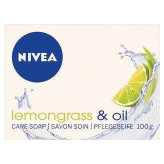 NIVEA Lemongrass & Oil krémszappan 100 g
