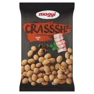 Mogyi Crasssh! Roasted Peanuts with Bacon Flavoured Crispy 190 g