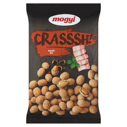 Mogyi Crasssh! Roasted Peanuts with Bacon Flavoured Crispy 190 g