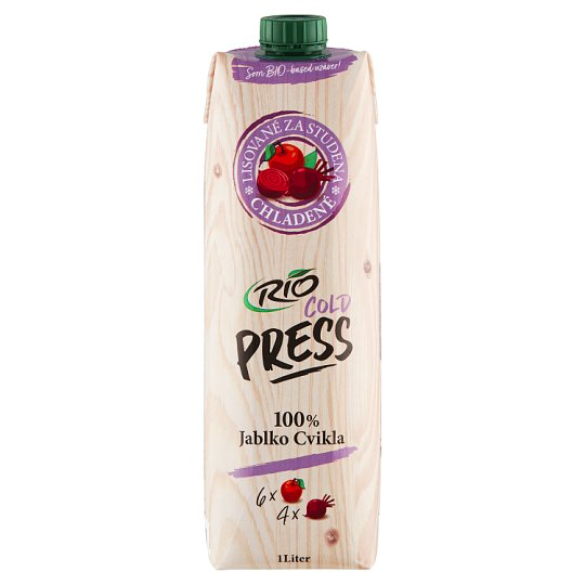 RIO FRESH 100% Juice from Apples and Beetroot 1 l