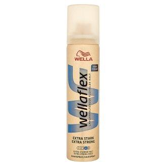Wellaflex extra erős tartást kölcsönző hajlakk 75 ml