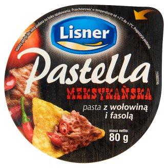 Lisner Pastella mexikói szendvicskrém 80 g