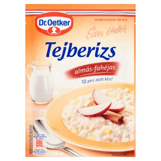 Dr. Oetker Tejberizs-alap Almás-fahéjas 130 g