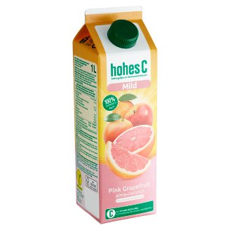 Hohes C Mild 100% Pink Grapefruit-Apple-Orange-Acerola Mixed Fruit Juice 1 l