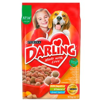 Darling Complete Food for Adult Dogs with Poultry & Vegetables 10 kg