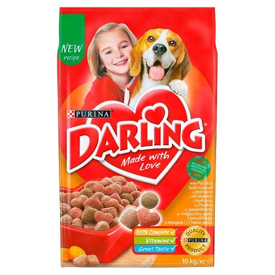 Darling teljes értékű állateledel felnőtt kutyák számára szárnyassal 10 kg