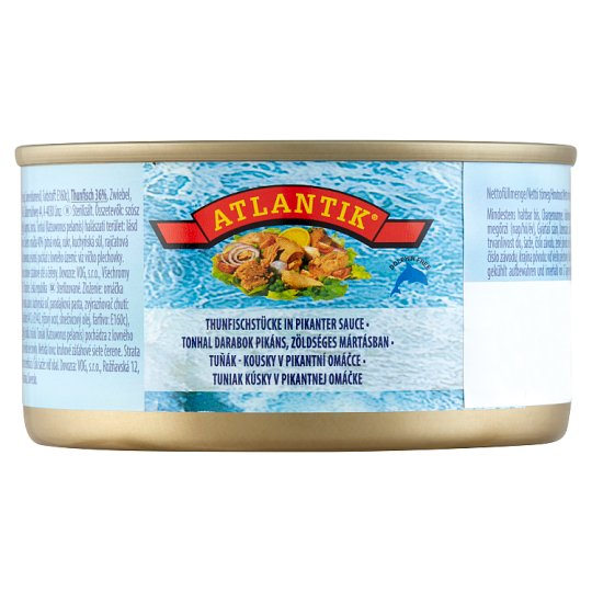 Atlantik Tuna in Piquant Vegetable Sauce 185 g