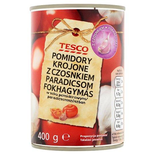 Tesco Tomato with Garlic 400 g
