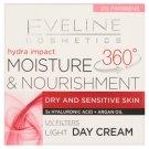 Eveline Cosmetics Hydra Impact 360° tápláló, könnyed, hidratáló nappali krém 50 ml