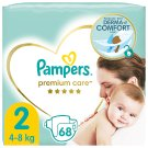 Pampers Premium Care Size 2, Nappy x68, 4kg-8kg