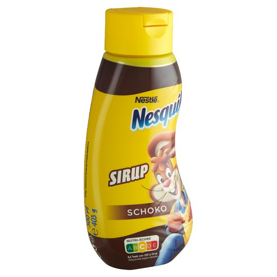 Nesquik Sirup with Low-Fat Cocoa Powder 403 g