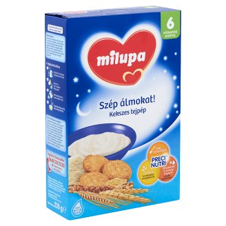 Milupa Szép álmokat! kekszes tejpép 6 hónapos kortól 250 g