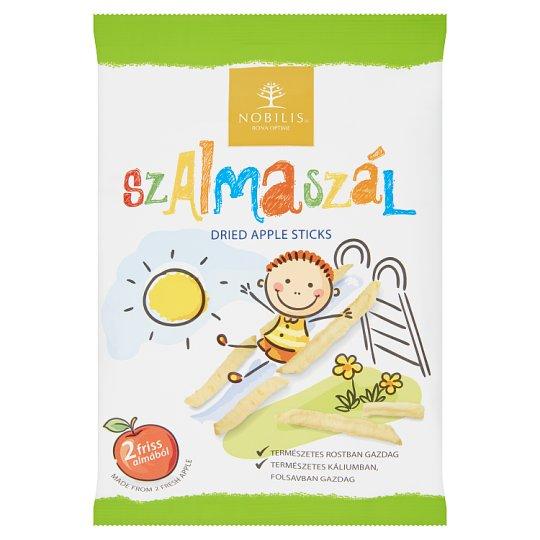 Nobilis Szalmaszál Dried Apple Sticks without Skin 25 g