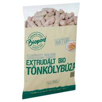 Biopont Organic Unflavoured Extruded Spelt 100 g
