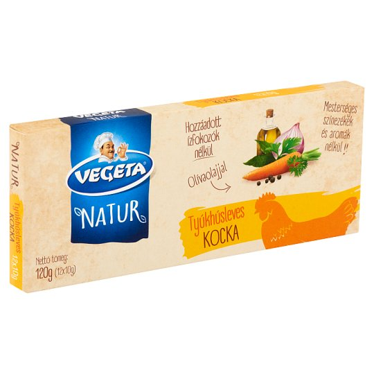 Vegeta Natur tyúkhúsleves-kocka 12 x 10 g
