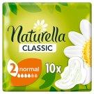 Naturella Classic Normal Camomile Egészségügyi Betét, 10 db