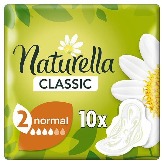 Naturella Sanitary Towels Classic Normal Camomile 10 Pads