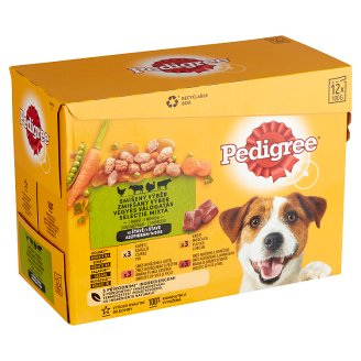 Pedigree Vital Protection Complete Pet Food for Adult Dogs in Sauce 12 x 100 g