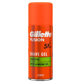 Gillette Fusion5 Ultra Sensitive Skin Férfi Borotvazselé 75 ml