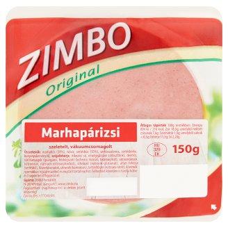 Zimbo szeletelt marhapárizsi 150 g