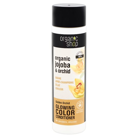 Organic Shop Golden Orchid Glowing Colour Conditioner with Organic Jojoba & Orchid 280 ml