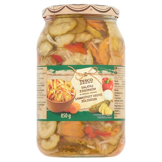Tesco Pickled Mixed Vegetables 850 g
