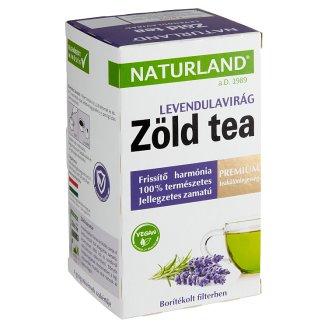Naturland Premium Oriental's Green Tea with Lavender Flower 20 Tea Bags 30 g