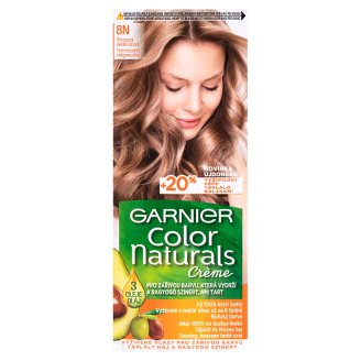 image 1 of Garnier Color Naturals Crème 8N Natural Light Blonde Nourishing Permanent Hair Colorant
