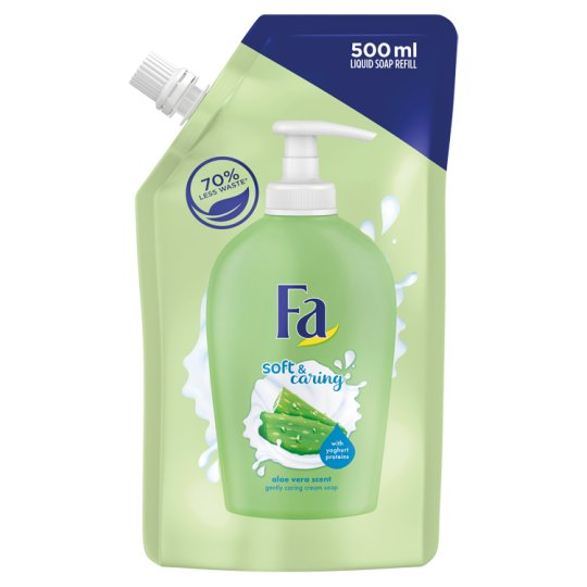 Fa Soft & Caring Aloe Vera Cream Soap Refill 500 ml