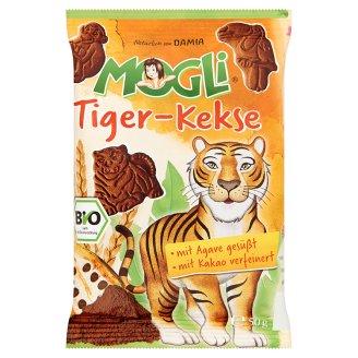 MOGLI Organic Mini Tiger Cocoa Flavoured Biscuits 50 g