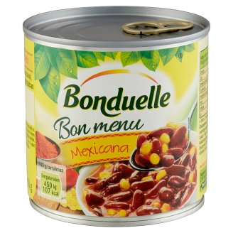 Bonduelle Bon Menu Mexicana Red Bean with Corn in Mild Mexican Sauce 430 g