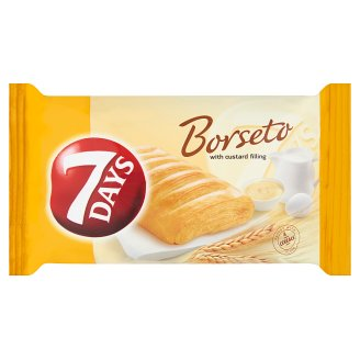 7DAYS Borseto Dough Product with Custard Filling 60 g