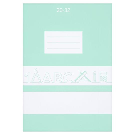 20-32 Plain Exercise Book