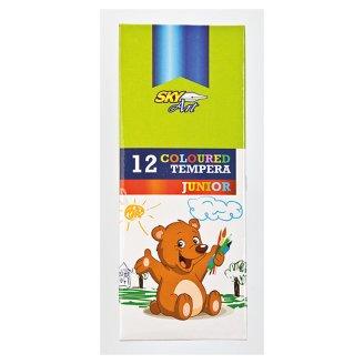 Sky Art Junior tubusos tempera 12 x 9 ml