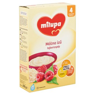 Milupa Raspberry Flavoured Rice Pudding 4+ Months 250 g