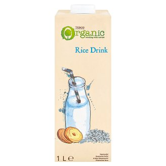 Tesco Organic UHT Rice Drink 1 l