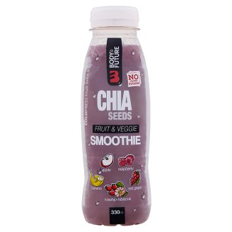 Body&Future Non-Carbonated Fruit Drink from Blend of Fruit- and Vegetable Juices with Chia 330 ml