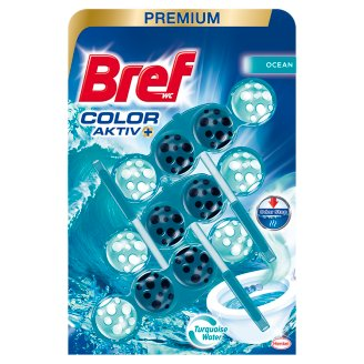 Bref Color Aktiv Ocean WC-frissítő 3 x 50 g