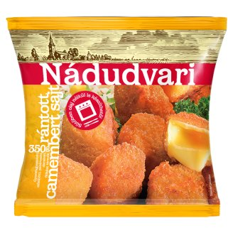 Nádudvari Quick-Frozen Breaded Camembert Cheese 350 g