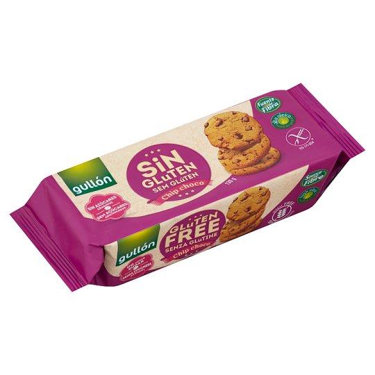 Gullón Chip Choco Gluten-Free Biscuits without Added Sugar, with Sweetener 130 g