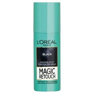 L'Oréal Paris Magic Retouch Fekete azonnali hajtőszínező spray 75 ml