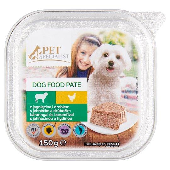 Tesco Pet Specialist teljes értékű állateledel felnőtt kutyák számára báránnyal és baromfival 150 g
