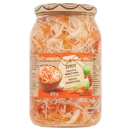 Tesco Mixed Pickles 850 g
