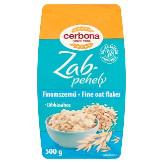 Cerbona Fine Oat Flakes 500 g