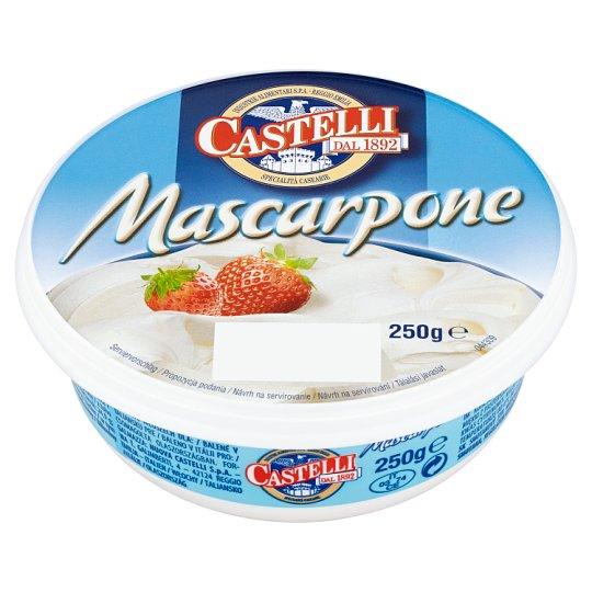 Castelli Mascarpone Fat Fresh Cheese 250 g