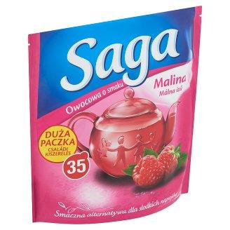 Saga málna ízű gyümölcstea 35 filter 63 g