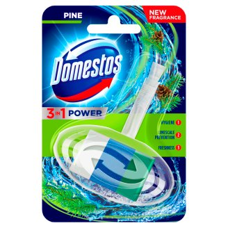 Domestos 3 in 1 Pine Toilet Rim Block 40 g