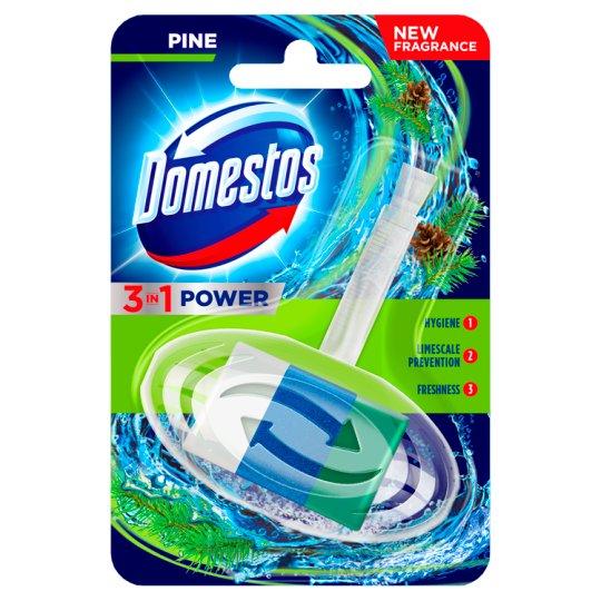 Domestos 3 in 1 Pine Toilet Rim Block 40 g