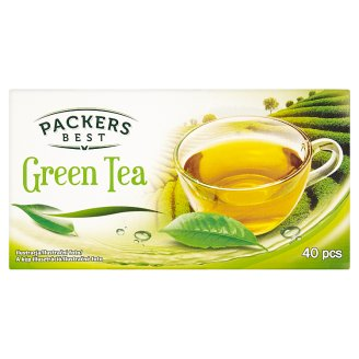 Packers Best filteres zöld tea 40 filter 70 g